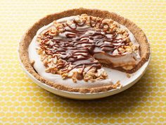 Dulce de Leche Banana Cream Pie : With a four-ingredient crust, this isn't nearly as hard to tackle as it looks. The filling gets most of its flavor from store-bought dulce de leche and sliced bananas, so you can spend more time enjoying the result.
