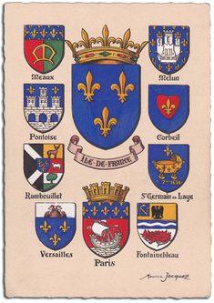 Fontainebleau, Boulevard Des Capucines, Medieval, Rome Antique, Tuskegee Airmen, Porsche Logo, Crests, Coat Of Arms, Knight