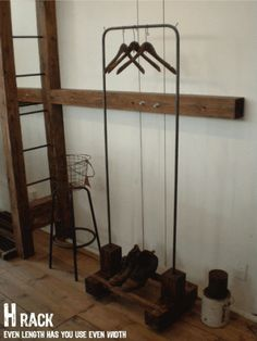 Wood Hanger 期間限定 アンティーク ハンガーラック インダストリアル インテリア 雑貨 家具 Antique ¥1000yen 〆05月19日