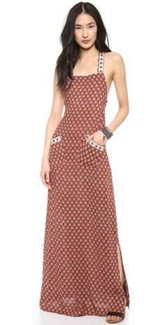 Flynn Skye Apron Maxi Dress | SHOPBOP