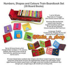 Saya menjual Numbers, Shapes and Colours Train Boardbook Set seharga Rp160.000. Dapatkan produk ini hanya di Shopee! http://shopee.co.id/littleoshop/1566200 #ShopeeID