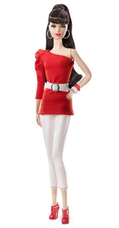 Looking for Collectible Barbie Dolls? Shop the best assortment of rare Barbie dolls and accessories for collectors right now at the official Barbie website! Fashion Dolls, Barbie Basics, Barbie Hair, Barbie Barbie, Barbie Stuff, Poppy Parker, Red Pumps, Barbie Collector, White Denim