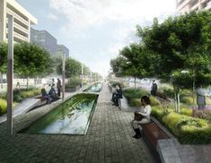 An EcoDistrict. Image coutesy of ZGF ARCHITECTS LLP
