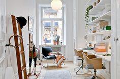 Komfortowe mieszkanie w starej kamienicy w Göteborgu