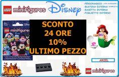 LEGO MINIFIGURES SERIES DISNEY , ARIEL , LA SIRENETTA