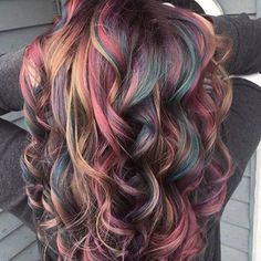 Hair tools designed with the professional in mind✂️ Barbara Rennaker.dryers 8 8 – 2 2 7 – 1 4 1 Previous Post Next Post Pretty Hair Color, Beautiful Hair Color, Oil Slick Hair, Slick Hairstyles, Ombré Hair, Violet Hair, Hair Color Highlights, Grunge Hair, Hair Tools