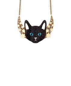 Mystic Cat Necklace - Gold