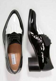 0c065f8eb6a39 Fratelli Rossetti Derbies - nero bianco - ZALANDO.FR. Cuponation France ·  Chaussures-Femme