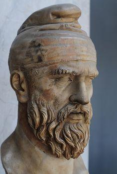 In anul 1822, cu ocazia sapaturilor din Forul lui Traian, a fost descoperit un bust de marmura cu inaltimea de 1, 5 metri care il repr...