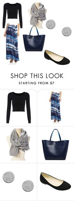 """""""Outfit #6"""" by katelyn-burgin on Polyvore featuring New Directions, Adrienne Vittadini and Merona"""