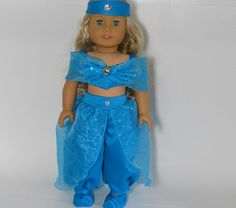 Jasmine American Girl doll clothes 18 inch doll by thesewingshed