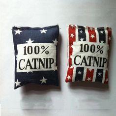 100% linho sacos de catnip catnip catnip brinquedos cores diferentes fornecer gato amo pet Frete Grátis