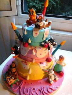 Torta Looney tunes baby