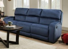 Chesterfield Sofa Get the best of sofas market Blue reclining sofas