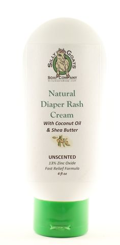Silly Goat's - Natural Diaper Rash Cream by SillyGoatsSoap on Etsy