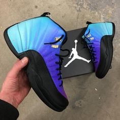 info for d5d5e 74b46 Air Jordan 12 Retro Ombre Gradient -