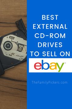 Reselling external CD-ROM drives on ebay on eBay can be very profitable. Here are the specific CD-ROM brands to look for that will make the most money on eBay #ebayseller #reselling #ebayseller Ebay Selling Tips, Selling Online, Amazon Sale, Sell On Amazon, What Can I Sell, Making Money On Ebay, Vintage Jewelry Crafts, Blog Planner, Blogger Templates