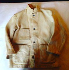 No5 1940's Royal Navy Melton work jacket very rare!