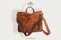 Tộc | Leather: Men Leather Briefcase Laptop Bag