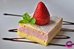 LIGHT PALEO DESSERT  Tökéletes paleo piskóta recept fehérjedús eperkrémmel (többféle töltelék variációval) ~ Éhezésmentes Karcsúság Szafival Recipies, Cheesecake, Sweets, Diet, Healthy, Food, Recipes, Cheesecake Cake, Sweet Pastries