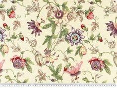 Tkanina tapicerska, kwiaty, mieszanka kolorów, 140cm