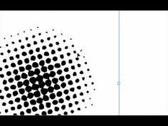 Tutorial Illustrator - Halftones - YouTube