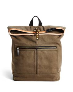 e16220c172e The Smith is our fashion heritage backpack with a modern twist. It features  a fold over design