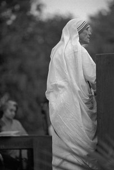 Marilyn Silverstone | Mother Teresa, in rear Indira Gandhi.Delhi