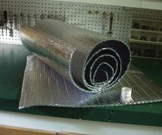 Energy saving window insulation.  Great for the cabin in winter, with just the woodstove.