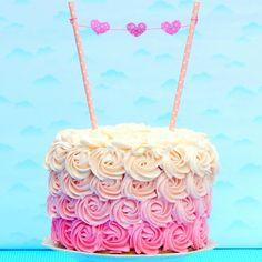 Cómo hacer azúcar de color: Miicakes
