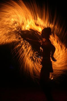 Technical details on light painting with fire, IMG_7913 by larslarsen77, via Flickr