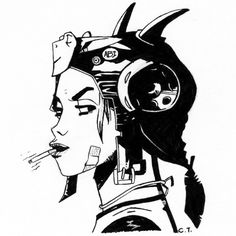 When is someone going to draw, depict, or photograph me as Tank Girl? #TankGirl…
