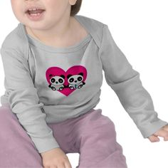 Pandas in Love T-shirt