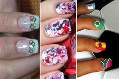 We're looking for the best Olympic nail designs to be featured on RyanSeacrest.com! Do you have what it takes? Check out these nail art photos for inspiration.