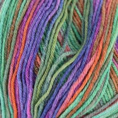 """Wisdom Yarns Saki Silk Self-striping subtle patterning emerge from your needles, creating fascinating and delightful color changes. Not just for socks! Fantastic for shawls, sweaters, and other finer gauge garments. Made in Turkey 55% Fine Merino Superwash Wool/ 25% Nylon/ 20% Silk Care: Machine Wash Weight/Yardage:100g/440yds Gauge: 7 sts = 1"""" on US 0-2 Weight: Sock"""
