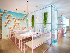 A Colorful Burger Restaurant Opens In Paris