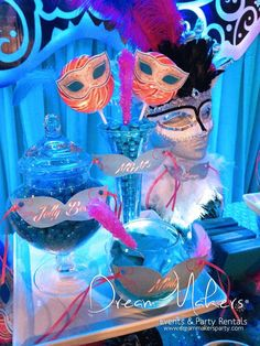 Masquerade Quinceañera Party Ideas   Photo 1 of 19   Catch My Party