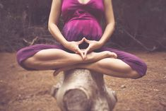 practicing the yoni mudra for inner bliss, creativity and self love.