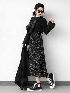 Fashion Tips Outfits .Fashion Tips Outfits Mode Outfits, Korean Outfits, Skirt Outfits, Casual Outfits, Modest Fashion, Hijab Fashion, Fashion Outfits, Dress Fashion, Fashion Wear