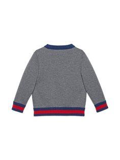 78c96db86d3 Gucci Kids Children s Sweatshirt With Web - Farfetch