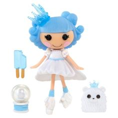 Mini Lalaloopsy Christmas Doll. Find dolls and plush at Target.com! Hold the cuteness of lalaloopsy in the palm of your hand. Each mini lalaloopsy come with an adorable pet and fun accessories that fit their personalities.. Price: $4.99
