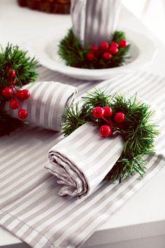 DIY Servilleteros para Navidad