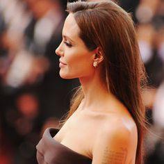 Angelina Jolie auf einer Filmpremiere