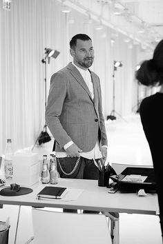 Meetup with Michael Michalsky @ the Mercedes-Benz Fashion Week.   #vonjungfeld #socks #mbfw #berlin #michaelmichalsky #colorfulsocks