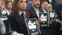 Caso Santiago Maldonado: Cristina Kirchner pidió cautela y retuiteó a Abuelas por la marcha de hoy