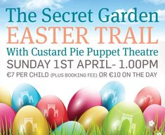 Bring the kids for a great day out Easter Sunday. See u there! Great Days Out, Custard, Puppet, Easter Eggs, Sunday, Pie, Bring It On, Domingo, Pinkie Pie