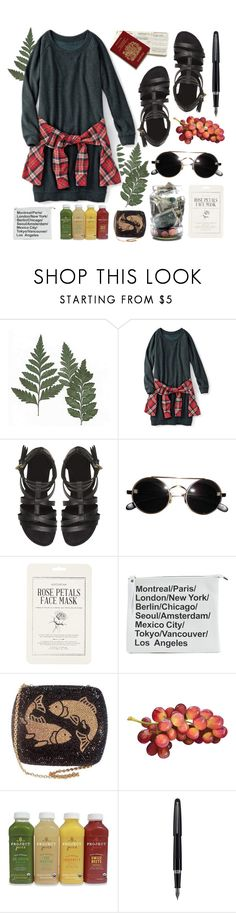 """STUFF [TAG]"" by ftrees ❤ liked on Polyvore featuring Forever 21, Fountain and country"