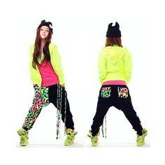 Women harem pants or dance sweatpants, casual loose hip hop wear pants... ❤ liked on Polyvore