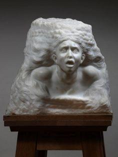 August Rodin, La Tempête, c. Auguste Rodin, Musée Rodin, Plaster Sculpture, Sculpture Clay, French Sculptor, Muse Art, 3d Studio, Principles Of Art, Art Corner