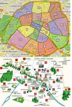 Carte des prix des parkings et des garages par arrondissements de Paris: http://www.parking-garage.info/analyse-paris.php  #analyse #prix #immobilier